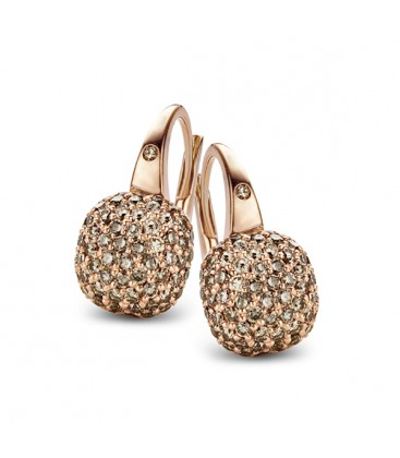 "Pendientes ""Mini Sweety"" Brown Diamonds"