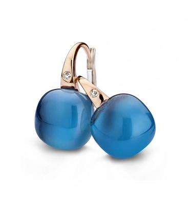 "Pendientes ""Mini Sweety"" London Blue"