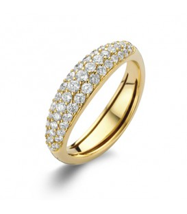 "Anillo ""Flow"" Diamonds"